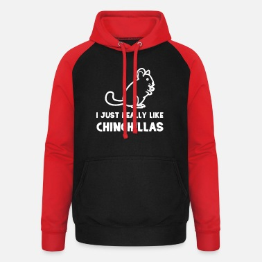 Chinchilla Chinchilla - chinchillaer - chinchilla - Unisex baseball hættetrøje