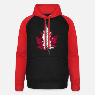 Home Country Canada home country - Unisex Baseball Hoodie