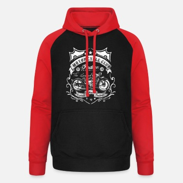 Indian Motorcycle Motorcycle Club Indian loudest and fastest - Unisex Baseball Hoodie