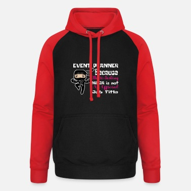 News-and-events Event planner event planner gift - Unisex Baseball Hoodie