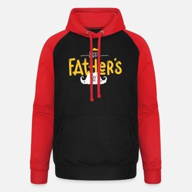 Happy Birthday Happy Fathers Day - Unisex Baseball Hoodie