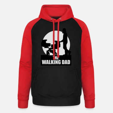 The Walking Dad Zwillinge THE WALKING DAD - TWO - TWINNS - Unisex Baseball Hoodie