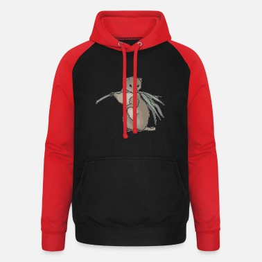 Rodent rodent - Unisex Baseball Hoodie
