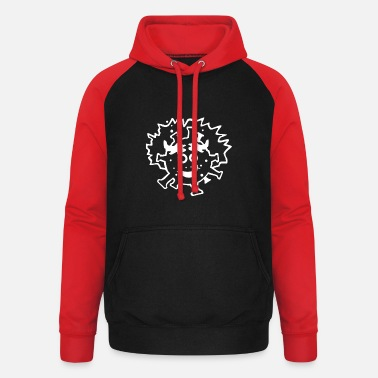 Government Fernando Simón cartoon for t-shirts - Unisex Baseball Hoodie