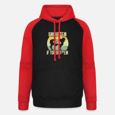 Bbq Master BBQ BBQ Grill King Grill Master Gift - Unisex baseball hoodie