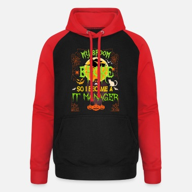 Manager it manager - Unisex Baseball Hoodie