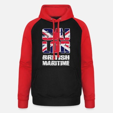 Uk UK Maritime Sailor - Sweat à capuche baseball unisexe