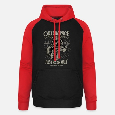 Outerspace Outerspace Adventurer Design - Unisex Baseball Hoodie