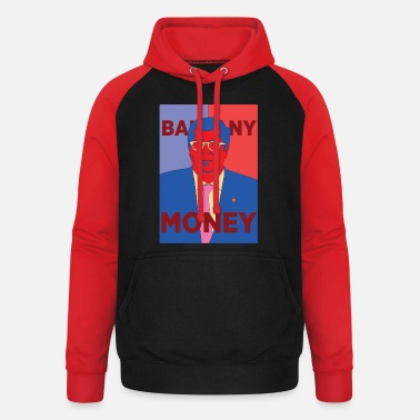 Obey Money instead of Obey - Balkany parody Obama Hope - Unisex Baseball Hoodie