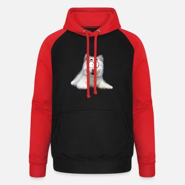 Cartoon Comic Hund - Unisex Baseball Hoodie