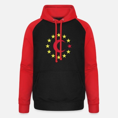 Europe Turkey - Europe - EU - Unisex Baseball Hoodie