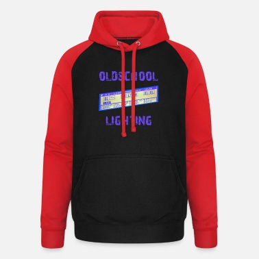 Ma oldschool lighting - MA Lightcommander - Unisex Baseball Hoodie
