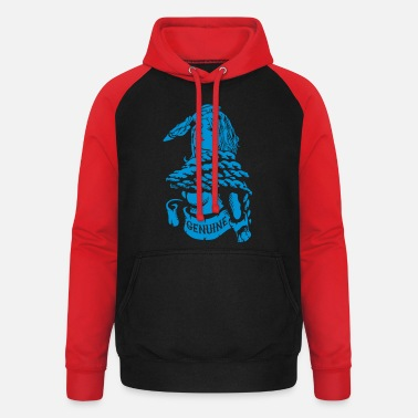Coltclothing Sailor Girl Genuine - Unisex Baseball Hoodie