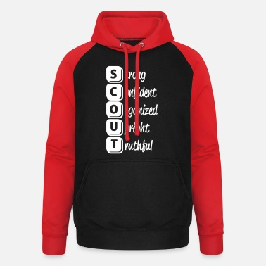 Scouts Scout - Unisex baseball hoodie