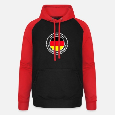 Danube FRIDING ON THE DANUBE - Unisex Baseball Hoodie