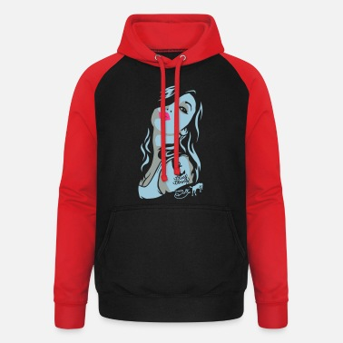 Coltclothing Nadja - Stay Strong - Unisex Baseball Hoodie