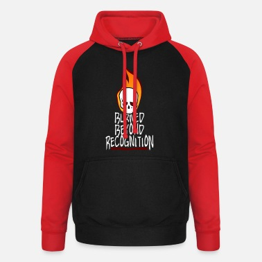 Recognition Burned Beyond Recognition - Unisex Baseball Hoodie