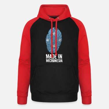 I Love Heart Micronesia Black Kids Sweatshirt