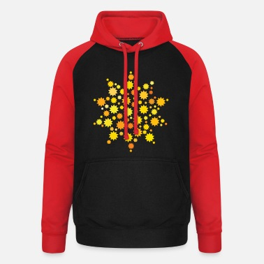 Star Stars North Star Starry Sky Star Stars - Unisex Baseball Hoodie