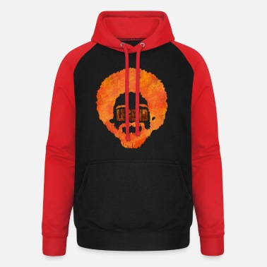 Ross Artist legend | Bob Maler Artistically painting - Unisex Baseball Hoodie
