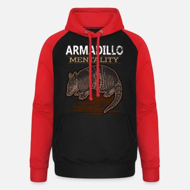 Armadillo Pangolin Wild Animal South America Asia - Unisex Baseball Hoodie