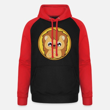 Cute Animal Cute hedgehog cute animals - Unisex Baseball Hoodie