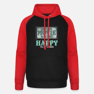 Cinema Movie cinema television gift movie night - Unisex Baseball Hoodie