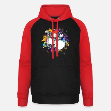 Percussion percussion - Unisex Baseball Hoodie