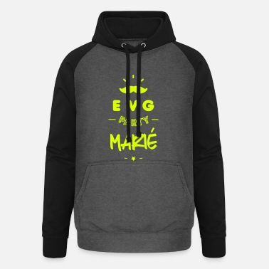 Marié EVG marié - Sweat-shirt baseball unisexe