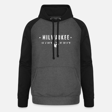 Milwaukee Milwaukee - Unisex baseball-huppari