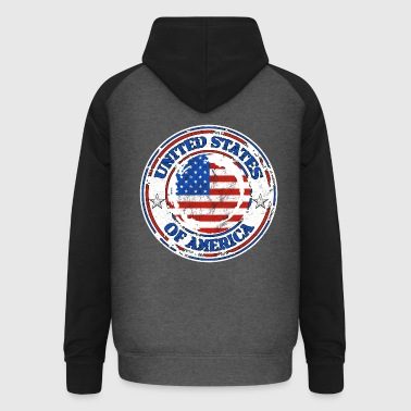 United States - Sweat-shirt baseball unisexe