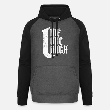 Trend Live Love Laugh - Unisex Baseball Hoodie