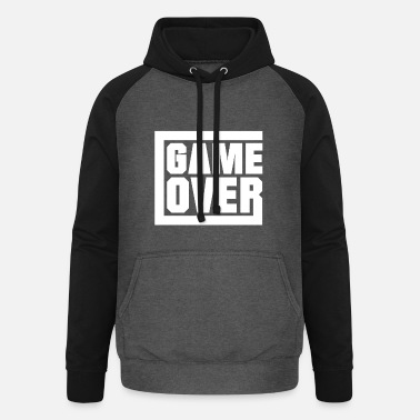 Game Over Game over - gamen - Unisex baseball hoodie