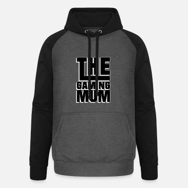 Gamer The Gaming Mum - Jeux - Sweat à capuche baseball unisexe