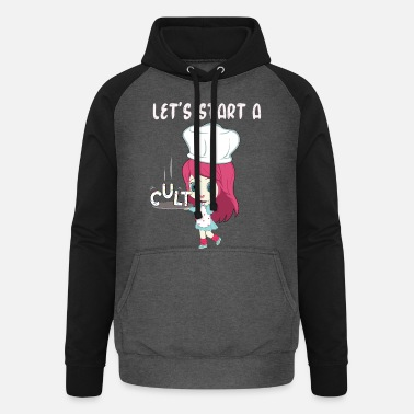 Idolatry Lets Start A Cult - Unisex Baseball Hoodie