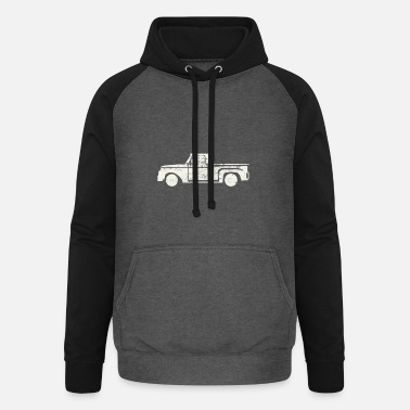 Pick-up-van Pick up truck - Unisex Baseball Hoodie