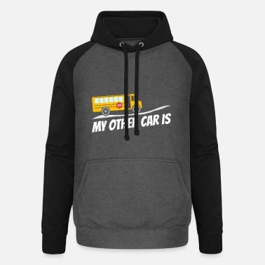Transport Gift Bus Driver School Bus Bus Dad Driver - Unisex Baseball Hoodie