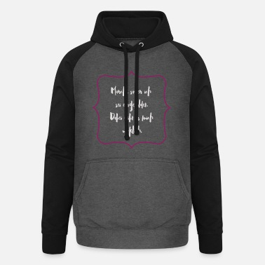 Conceited Some say I'm conceited - Unisex Baseball Hoodie