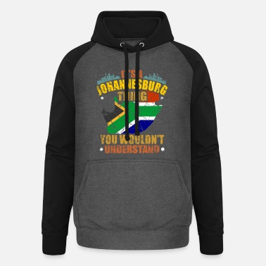 South South Africa - Unisex Baseball Hoodie