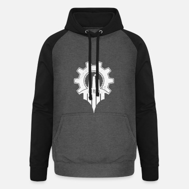 Lost Place Lost Places - Unisex Baseball Hoodie