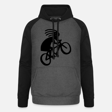 Bike Racing Bike racing - Unisex Baseball Hoodie