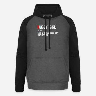 Rugby Funny rugby girl definition - Unisex Baseball Hoodie