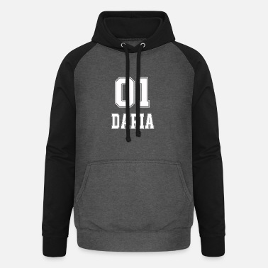 Campus name tshirt sports club sport shirt Daria - Unisex Baseball Hoodie