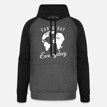 Carbon Dioxide Pollution save the planet carbon dioxide - Unisex Baseball Hoodie