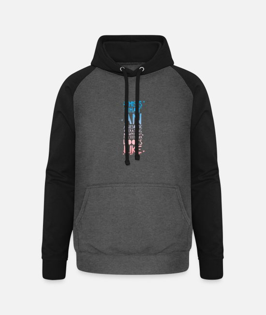 Operating Department Practice Hoodies & Sweatshirts - Awesome ODP 2 - Unisex Baseball Hoodie graphite/black