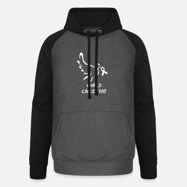 Cancer Sucks World Cancer Day - Unisex Baseball Hoodie