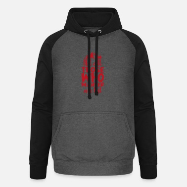 Journey Wander lost travel adventure camping gift - Unisex Baseball Hoodie