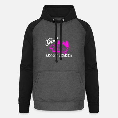 Girl Scout Leader T-Shirt - Unisex Baseball Hoodie