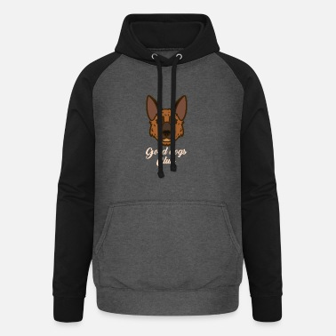 Dog Club Good Dogs Club - Unisex Baseball Hoodie