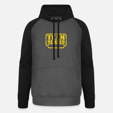 Party name your team member - Unisex Baseball Hoodie